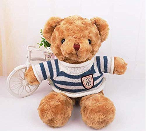 knuffel retro trui beer groot koppel schattige beer pop zachte pop voor het sturen van high-end cadeau meisje 50 cm