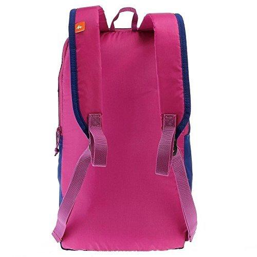 Quechua Arpenaz senderismo bag-10L (pequeño tamaño bolsa de transporte de, no para portátil), color azul/morado