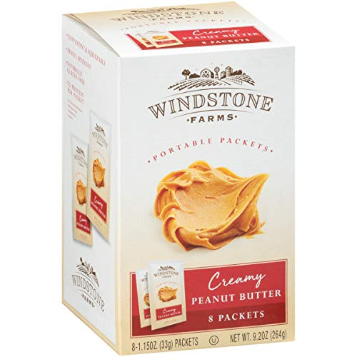 Windstone Farms Portable Creamy Peanut Butter ~ 8 packets