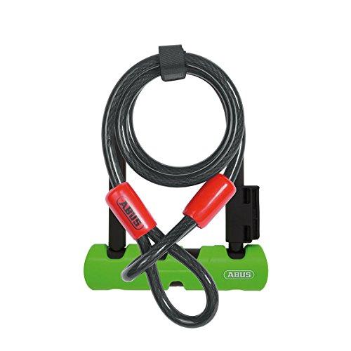 ABUS AB34596 410/150HB140 SH34 + 10/120 Ultra Mini hangslot, zwart, HB140