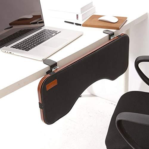 YHMT Vassoio per Tastiera da Scrivania,Vassoio per Tastiera Pieghevole,Supporto Ergonomico per Supporto da Polso per Tastiera Parallela al Desktop,Molto Adatto per Ufficio,casa