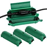 Restmo 4 Pack Compact Outdoor Extension Cord Cover, IP44 Waterproof Box and Safety Housing...