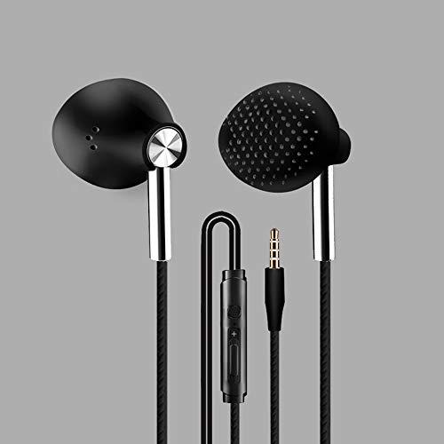 DSAX 6D Gaming Headset In-Ear Sport Earphone Wired Super Bass 3.5mm Crack Headset halssnoer met microfoon bas stereo oordopjes (Color : Black)