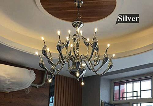RAQ kroonluchter verlichting voor woonkamer slaapkamer keuken binnentrap kroonluchter plafond Art Decor LED kroonluchter Wall Lamp D