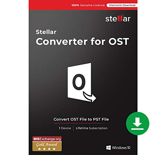 Stellar Converter for OST|Convert Large OST Files To PST|1 Device - 1 Year...