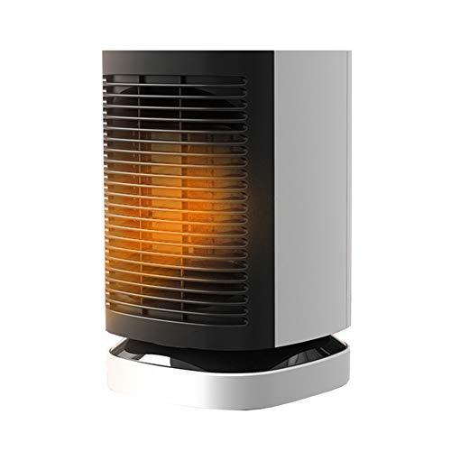 WYW 900W Mini Compacto Calefactor Termoventilador,Función Ventilación,con 3 Niveles de Potencia,Sistema de Seguridad,Muy Adecuado para Escritorios,silencioso Termostato Ajustable,1