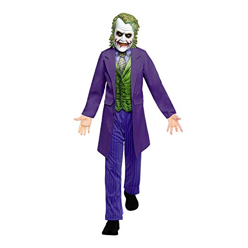Boys Joker Movie Halloween Warner Bros Fancy Dress Costume