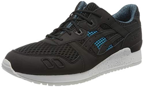ASICS Unisex-Erwachsene Gel-Lyte III DN6L0-9090 Sneaker, Mehrfarbig (Black 001), 44 EU