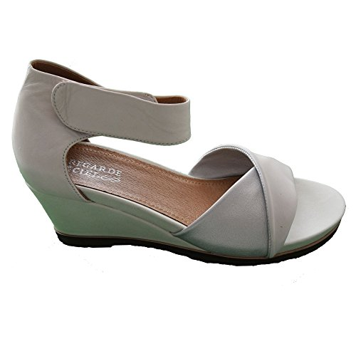 Regarde Le Ciel - Sandalias de Vestir de Piel para Mujer, Color, Talla 40 EU