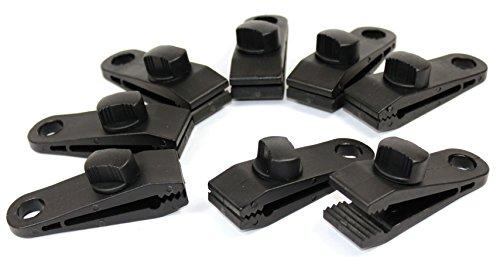 K&B Vertrieb Clip Lot de 20 – K & B Tendeur de distribution pour bâche planifier Clips tente bâche planifier Support Bâche en tissu Support 466