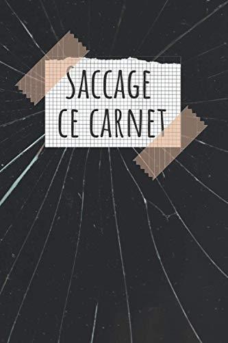 Saccage Ce Carnet: Livre pour vider son énergie négative, et y faire tout ce qui vous passe par la tête
