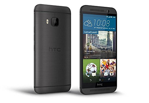 HTC One M9 Smartphone (5 Zoll (12,7 cm) Touch-Display, 32 GB Speicher, Android 5.0.2) dunkelgrau
