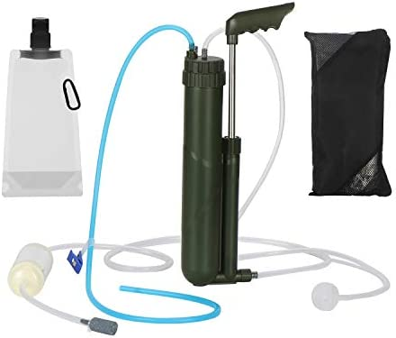 thanksky Portable Hand Pump Camping Survivor Water Filter 3 Filter Stages 0 0001 Micron Water product image