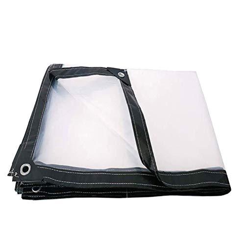 SACYSAC Transparant dekzeil, met polyethyleen bedekt, stofdichte plastic folie voor decoratie meubels met gaten