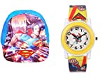 Summer Combo : Kids Cap and Watch( Designs and Colors May Vary) 3