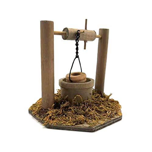 F Fityle 1:12 Simulación Gallinero Hadas Jardín Decoración Suministros Accesorios