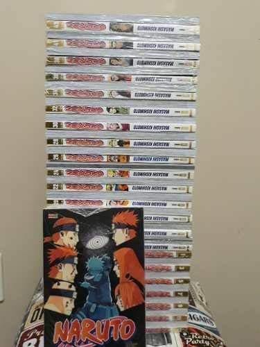 Mangá Naruto Gold Volumes 1 ao 52