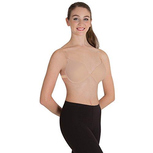 Body Wrappers 297 Womens Underwire Dance Bra (32D, Nude)