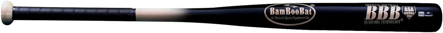 BamBoo Bat HNBB34ASA Softball Barrel Wholesale Black Natural 70% OFF Outlet Handle