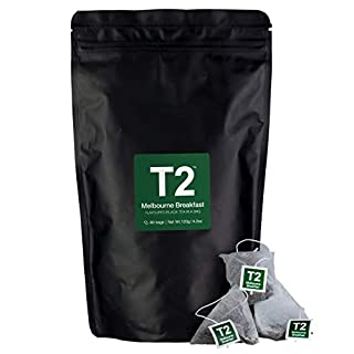 T2 Tea Melbourne Breakfast Black Tea Bags in Resealable Foil Refill Bag, 60-count (B07FD1P363)   Amazon price tracker / tracking, Amazon price history charts, Amazon price watches, Amazon price drop alerts