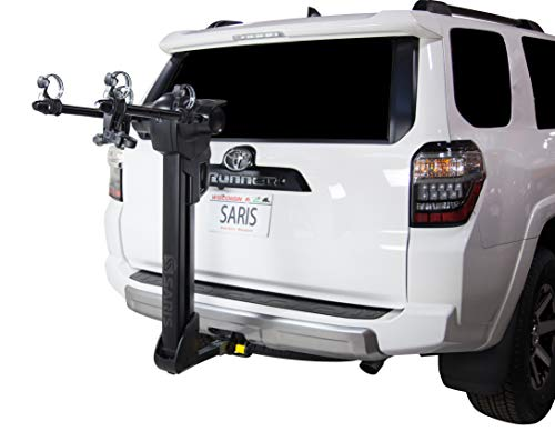 Saris Glide EX Bike Rack Hitch Mount, 2-5 Bicycle Carrier, Multiple Colors
