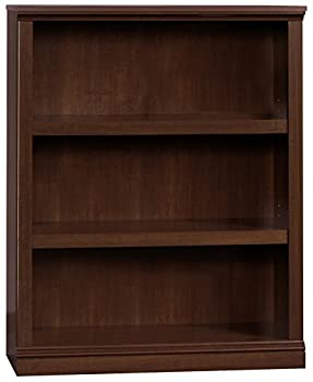 Sauder Select Collection 3 Shelf Bookcase Select Cherry finish