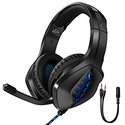 Tyuobox Gaming Headset for PS4, PC, Xbox One Controller