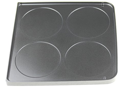 Severin 7228048 Grillplatte (doppelseitig) für RG2341, RG9474 Raclette