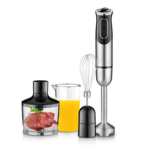 600ml Staafmixer 4 in 1 Portable Blender voor Kitchen Food Processor Stick met Chopper Whisk Electric Juicer Mixing