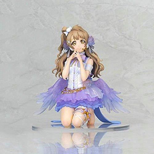 SHUMEISHOUT El nuevo modelo de personaje de anime, 16 cm pájaro muñeca móvil anime estatua modelo decoraciones, recuerdo de títeres artesanías regalo pequeño pájaro sur, juguete para niños