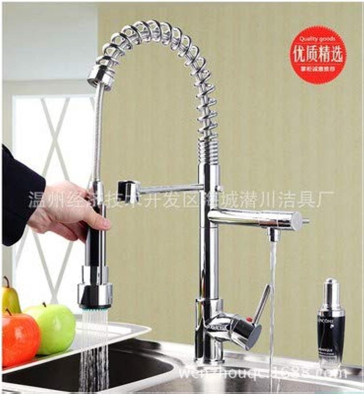 Kupfer Küchenauszug Wasserhahn 360 Grad Drehbare Spüle Mit Doppeltem Verwendungszweck Frühling Wasserhahn