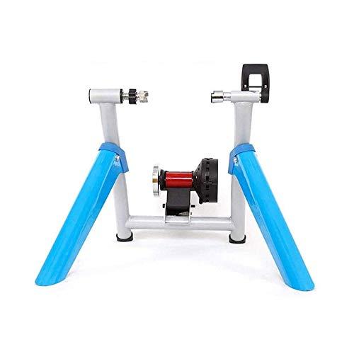 LKNJLL Equipo de cubierta inteligente entrenador de bicicletas, Turbo Trainer magnética for bicicletas, capacidad de carga 100 Kg, Rodillos de bicicletas bicicletas Hacer Posible formación en el hogar