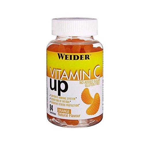 Weider UP Vitamin C Up - 84 gominolas Orange