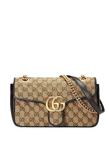 Luxury Fashion | Gucci Dames 443497HVKEG9772 Beige Polyester Schoudertassen | Seizoen Permanent