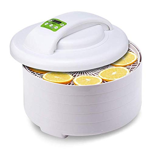 Great Deal! SMLZV Dehydrator,ABS Environmental Protection Material,5 Layers of Large Capacity,360-de...