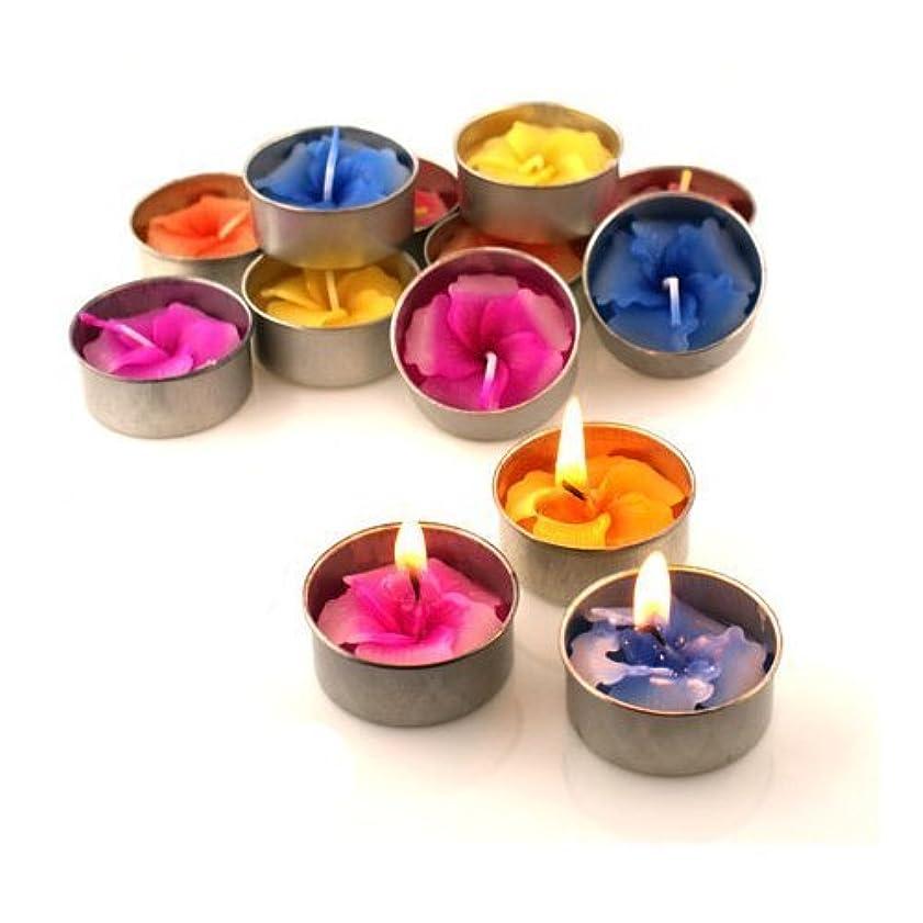 主人迷彩ドリルRelax Spa Shop @ Hibiscus Candle in Tea Lights , Floating Candles, Scented Tea Lights ,Aromatherapy Relax, Decorative Candles,(Hibiscus Candle in Tea Lights Pack of 10 Pcs.) by Relax Spa Shop