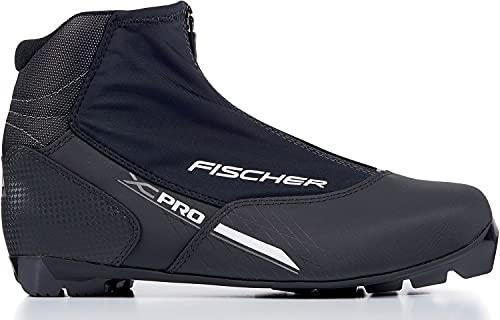 FISCHER Langlaufschuhe XC Pro, Schwarz/Silber, Gr. 47 Botas de esquí de Fondo (Talla, Unisex Adulto, Negro/Plateado