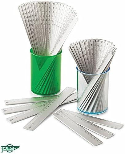 protección post-venta Faibo Reglas Reglas Reglas en aluminio (20 cm.)  el mas reciente