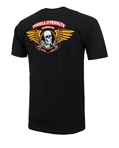 Powell Peralta Winged Ripper black Camiseta