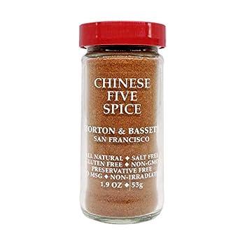 Morton & Bassett Chinese 5 Spice 1.9-Ounce jar