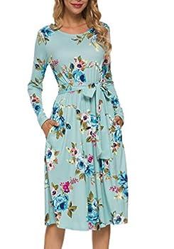 Best modest long sleeve dresses Reviews