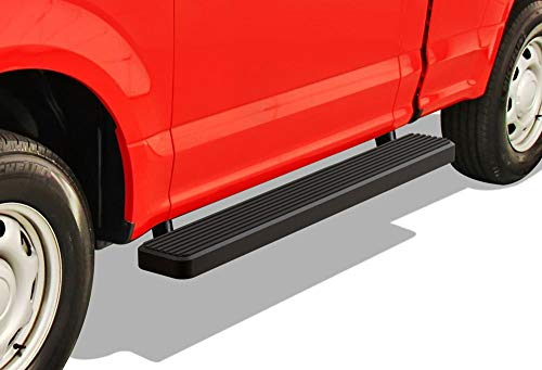 APS iBoard Running Boards 6-inch Black Compatible with Ford F150 2015-2021...