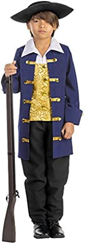 Boy's Colonial Aristocrat Costume - Größe Medium 8-10 by Dress Up America