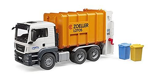 Bruder 3762 - Caminhão de lixo MAN TGS (laranja)