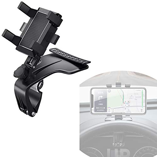 New Car Phone Holder, 1200 ° Rotation Car Phone mount, Cell Phone Holder with Phone Number Plate