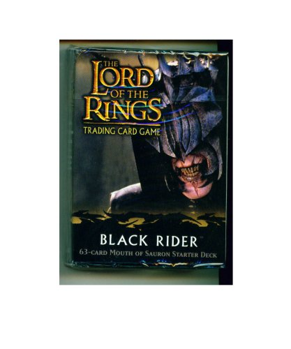 Lord of the Rings Card Game Theme Starter Deck Black Rider Mouth of Sauron x
