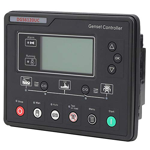 Supervisión de parámetros del módulo controlador de grupo electrógeno DGS6120UC de repuesto para equipos de máquinas