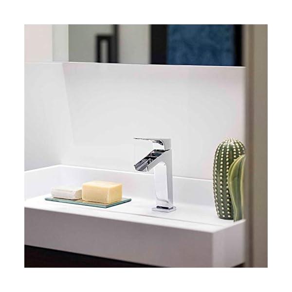 Ramon Soler 213101 Urban Chic – Grifo para lavabo con caño de cascada abierto