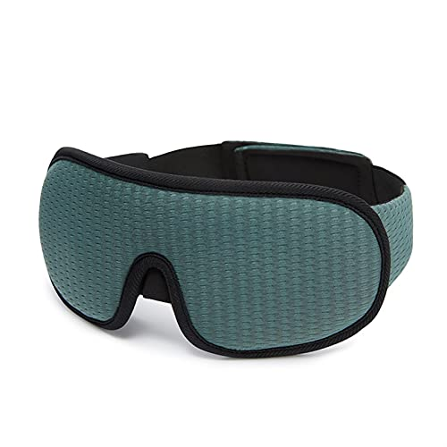 JIETAOMY AugenAbdeckung 3D Schlafmaske mit Augenbinde schlafhilfe Eyepatch Eye-Cover Sleep Patches Eyeshade Gesichtsmaske Eyemask (Color : Gray)