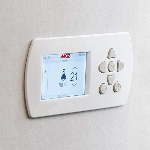 Panel mandos original para estufas MCZ tecnología MAESTRO empotrable cód. 4018003